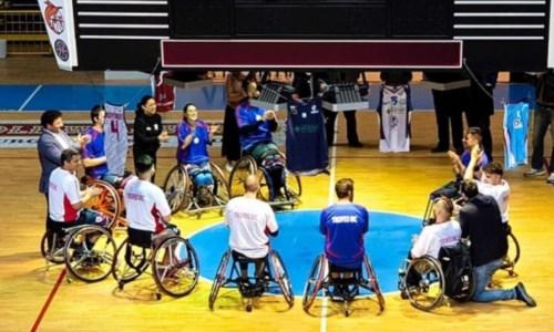 Basket in carrozzina, per Reggio Calabria una stagione ricca di emozioni nel torneo di Serie A