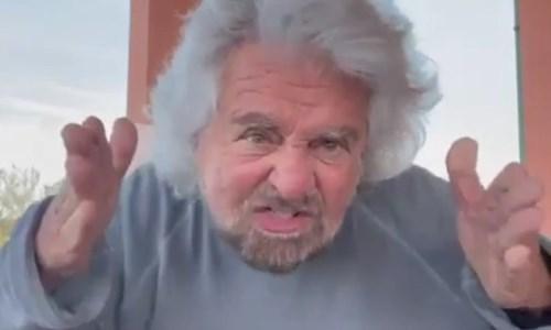 Beppe Grillo nel video delle polemiche