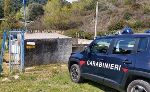 L'intervento dei carabinieri forestali