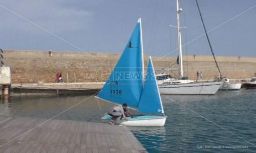 Vela, a Crotone il raduno degli atleti paralimpici: «In mare liberi e senza limiti»