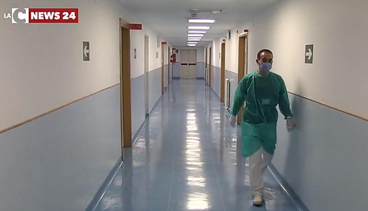 Reparti dell'ospedale di Cosenza, foto di repertorio