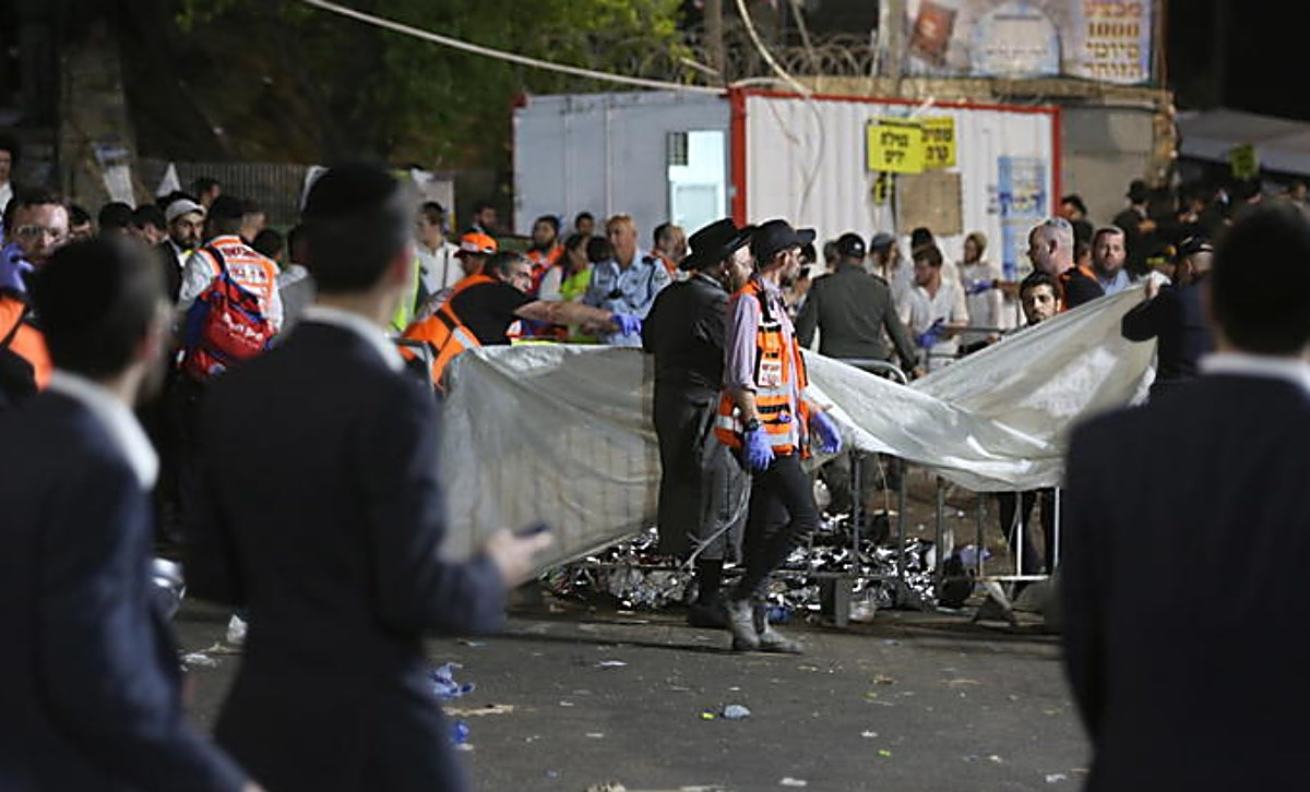 L'incidente in Galilea, foto Ansa