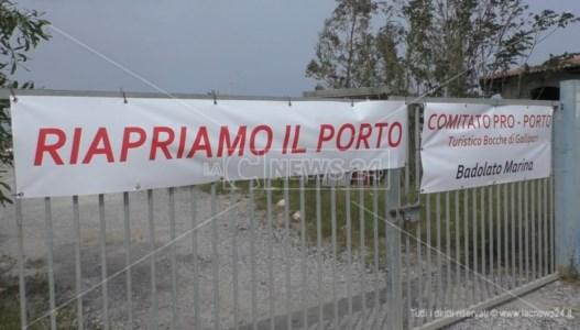 Badolato, il comitato chiede la riapertura della darsena turistica: «infrastruttura strategica»