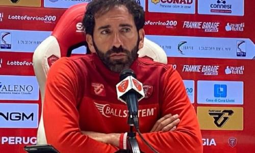 Fabio Caserta, allenatore del Perugia