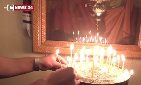 Reggio Calabria, la comunità greco-ortodossa festeggia la Pasqua: video