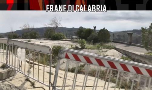 Interi quartieri che franano, l'Inviato speciale fa tappa a Catanzaro e Caulonia