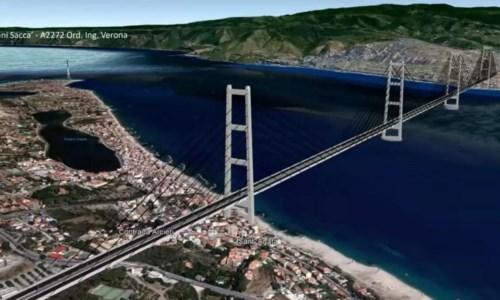 Ponte sullo Stretto, Spirlì: «Il progetto c'è, bisogna solo ripartire»