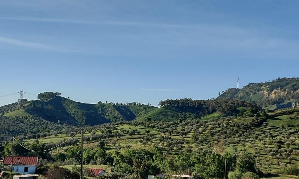 L'area del progetto parco Serra Spina