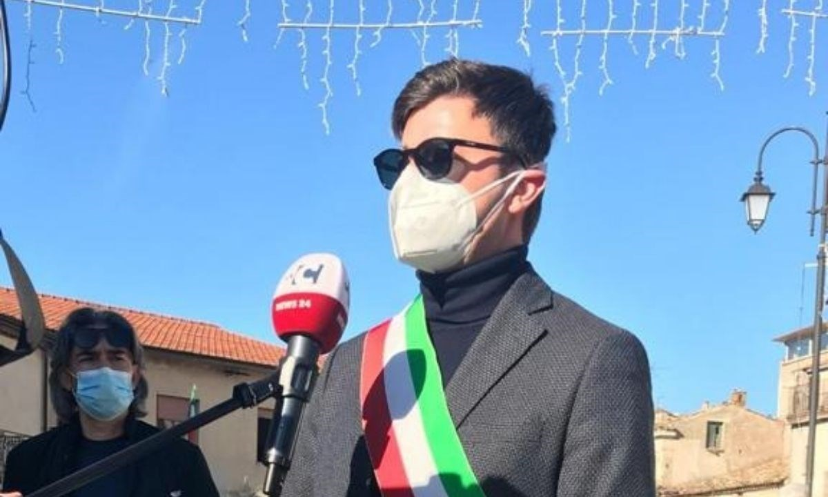 Il sindaco di Caloveto Umberto Mazza