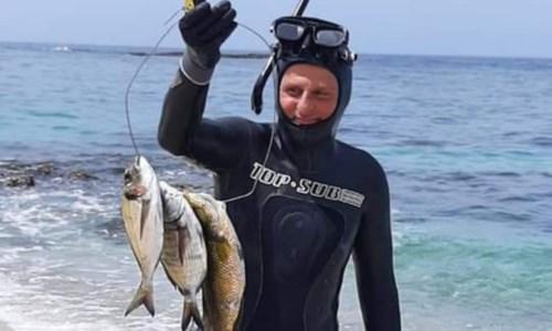 Pesca subacquea in apnea: a Ricadi trionfa il catanzarese Pino Aiello