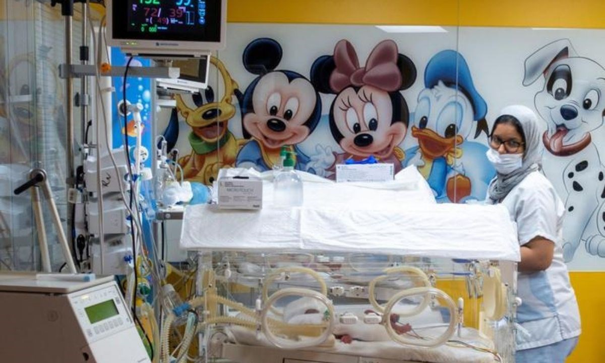 Alcune incubatrici in un ospedale di Casablanca, foto Ansa