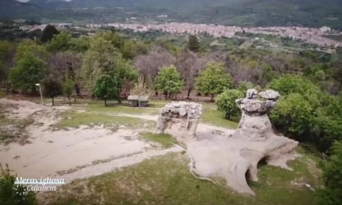 I giganti di pietra di Campana nella nuova puntata di Meravigliosa Calabria