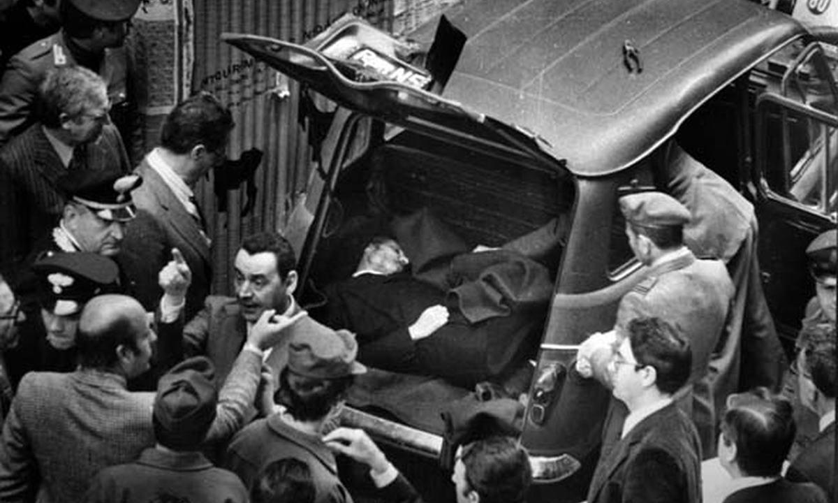 Il ritrovamento del cadavere di Aldo Moro