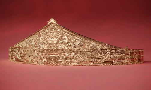 Il diadema del tesoro di Sant'Eufemia rinasce in 3D nel lavoro di tre ricercatori