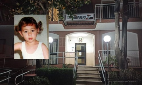 Denise Pipitone, di nuovo in caserma a Scalea la ragazza che le somiglia: attesa decisione su test Dna