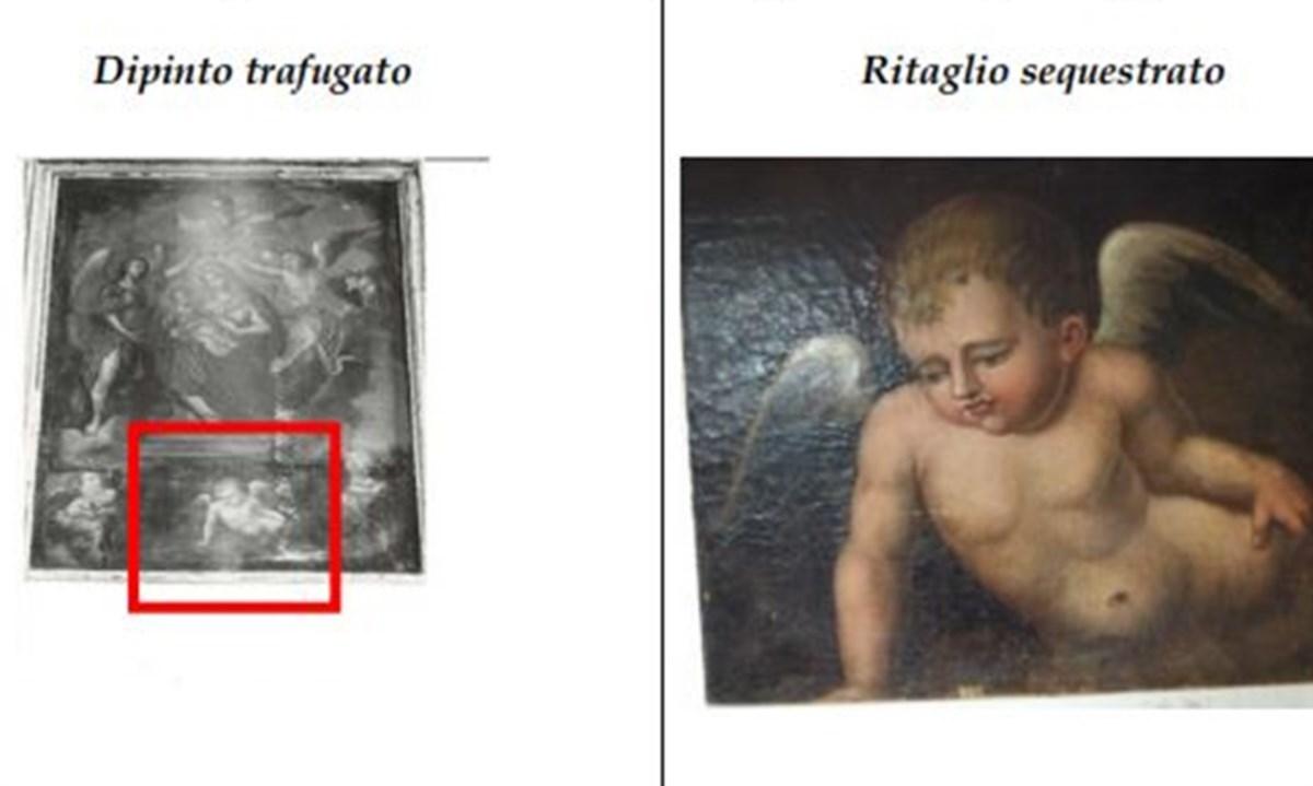 La comparazione tra i due dipinti