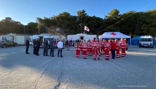 Al porto di Roccella Jonica inaugurata la nuova sede della Croce rossa