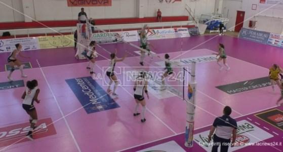 Pallavolo femminile A2, Volley Soverato cade in casa contro Vallefoglia