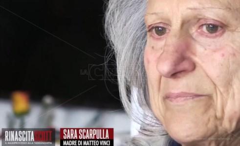 «Mio figlio dilaniato e fatto e pezzi»: il dolore e la rabbia di Sara Scarpulla nel format di LaC Rinascita Scott