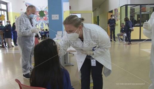 L'attività di screening condotta a scuola a Cosenza