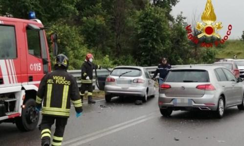 L'incidente sulla ss 107