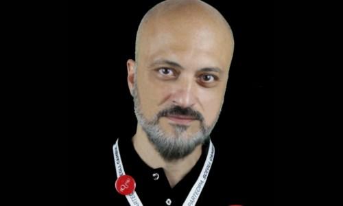 L'attivista Domenico Augliera