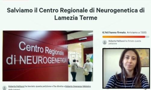 Salviamo il Centro di Neurogenetica di Lamezia, parte da Brescia la petizione: raccolte 7mila firme