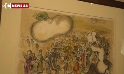 L'arte incontra la fede con La Bibbia: la mostra dedicata a Chagall apre i battenti a Catanzaro