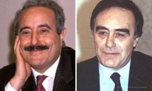 Giovanni Falcone e Antonino Scopelliti
