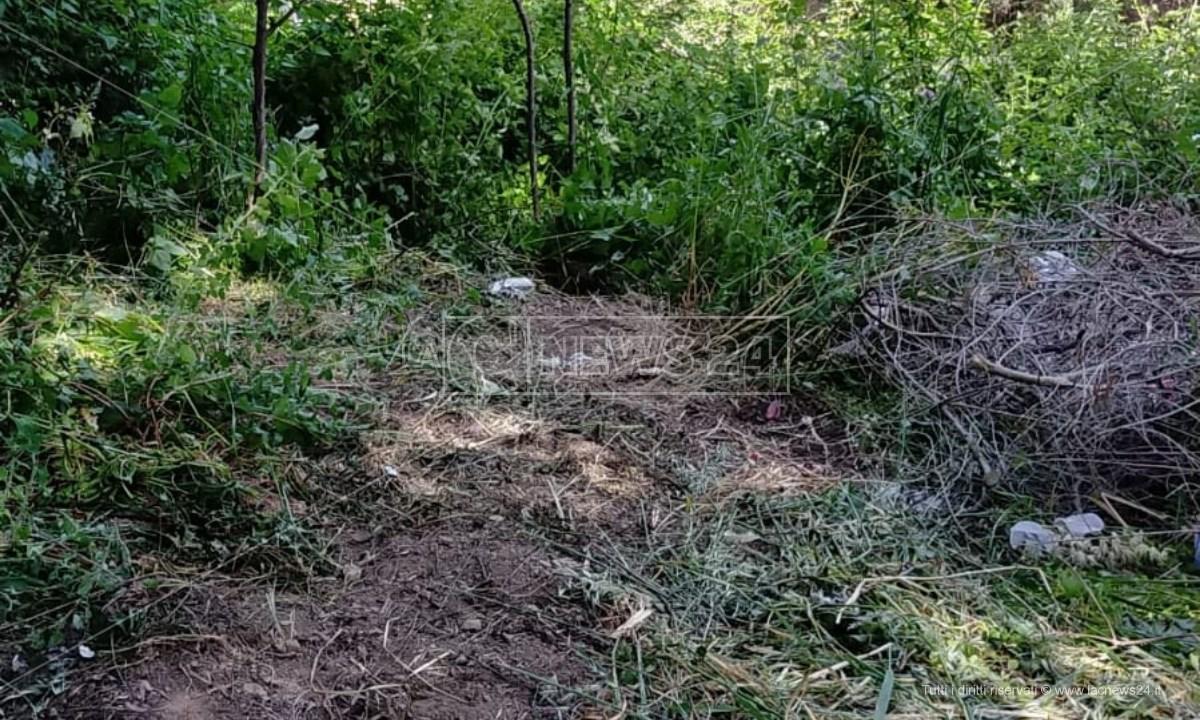 Il luogo dov'è stato ritrovato il corpo dell'uomo