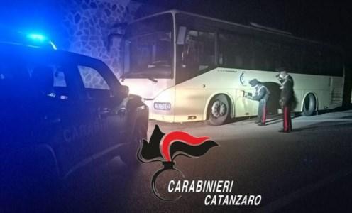 Sersale, ruba carburante dai bus in sosta: arrestato 37enne