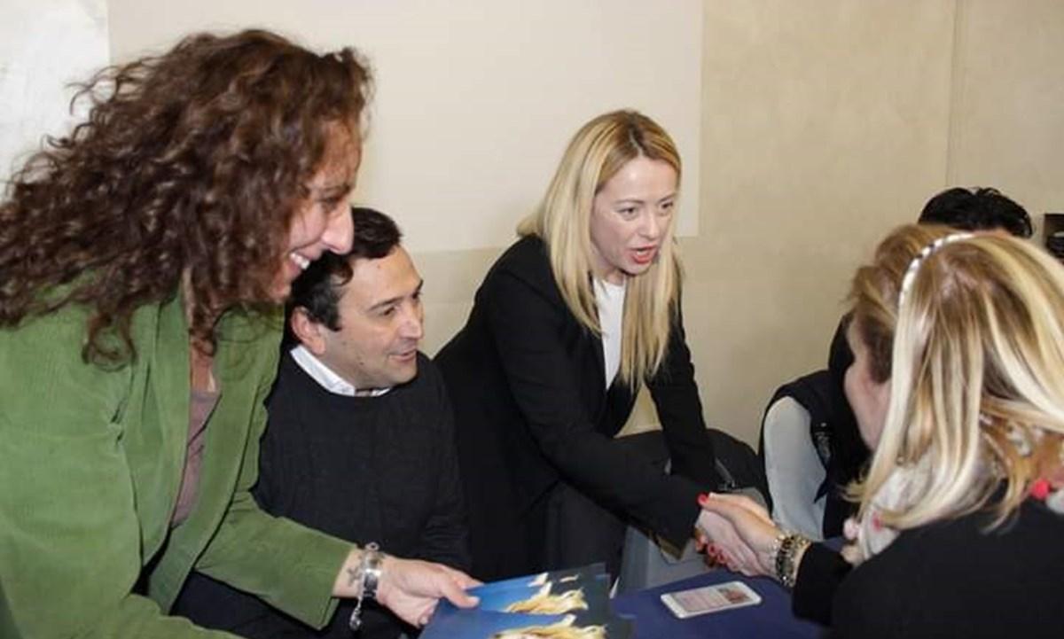 Wanda Ferro, Fausto Orsomarso e Giorgia Meloni