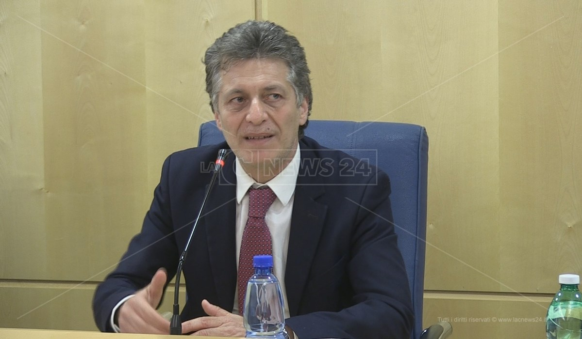 Il presidente di Unindustria Calabria Aldo Ferrara
