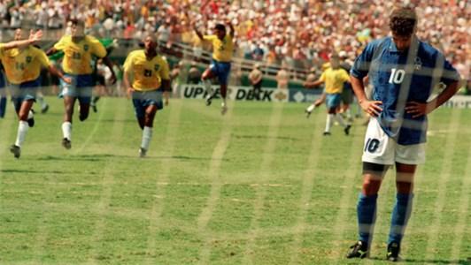 Il rigore sbagliato da Roberto Baggio ai mondiali Usa del 1994