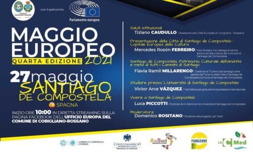 Continua il Maggio europeo: oggi tappa a Santiago de Compostela