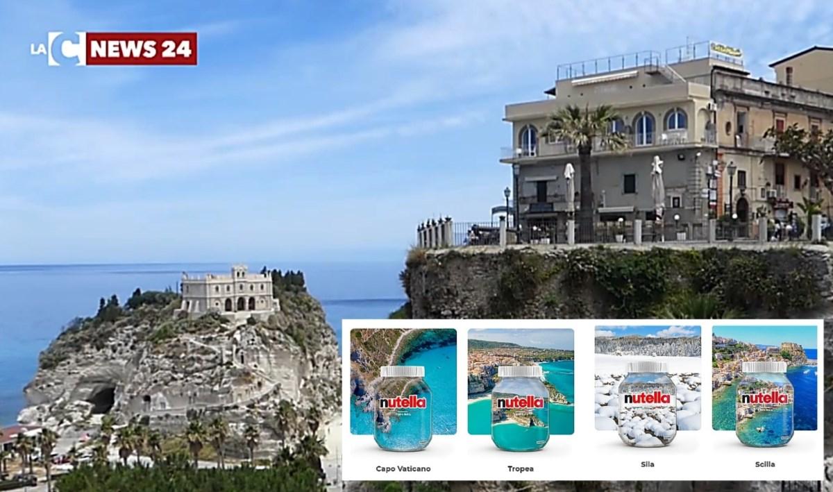 Le 4 mete calabresi protagoniste del contest Nutella, sullo sfondo Tropea
