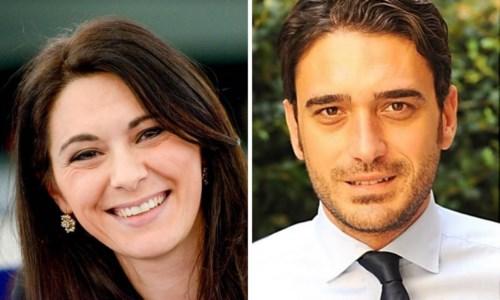 Pina Picierno e Nicola Irto
