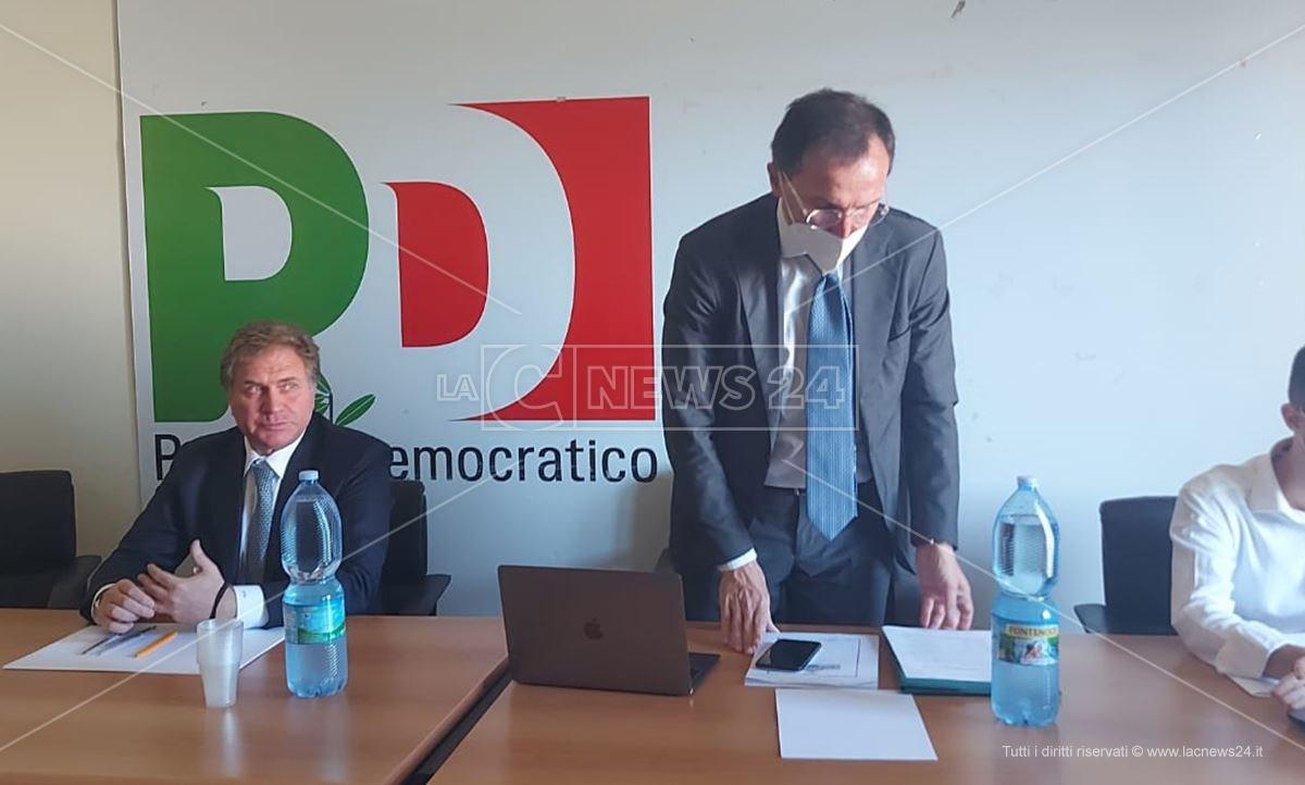 Stefano Graziano e Francesco Boccia