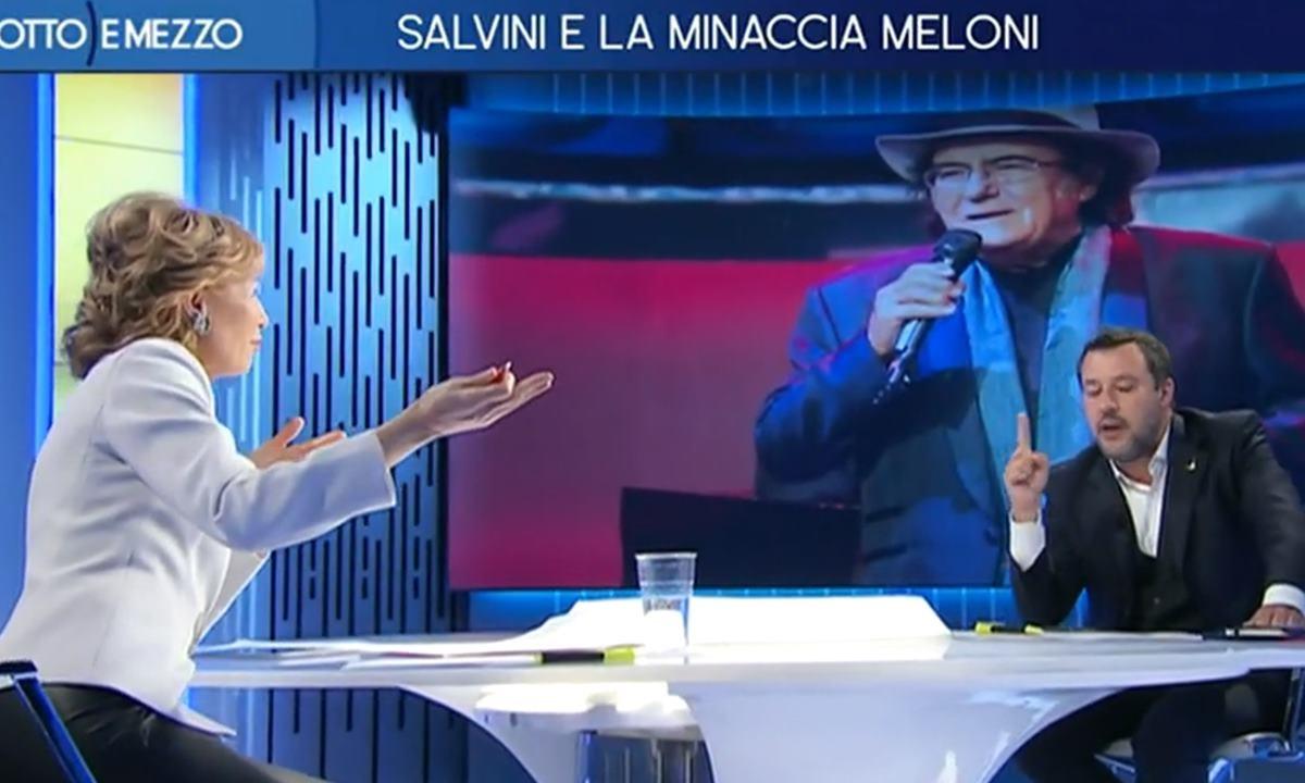 Salvini ospite di Lilli Gruber