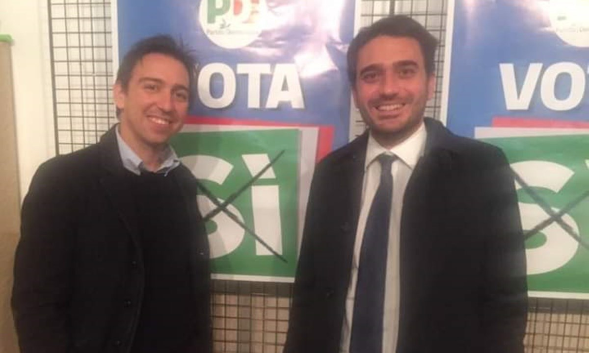 Nino Castorina e Nicola Irto