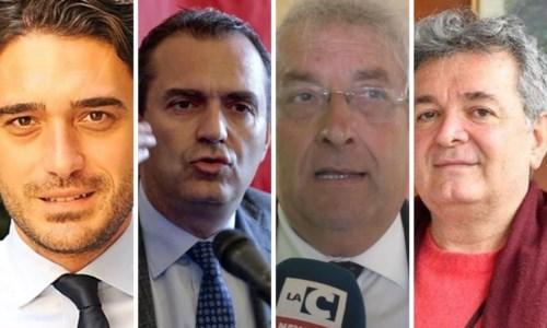 Nicola Irto, Luigi de Magistris, Ernesto Magorno, Nino Spirlì
