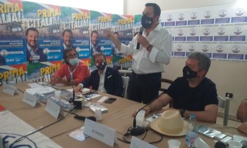 L'intervento di Salvini a Zambrone