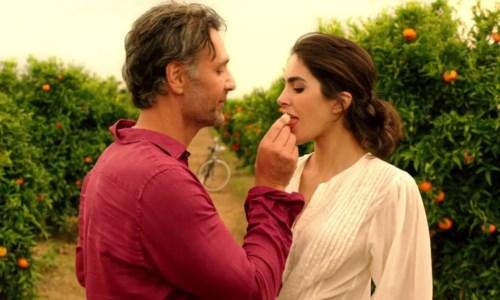 Un frame del corto di Muccino interpretato da Raoul Bova e Rocío Muñoz Morales