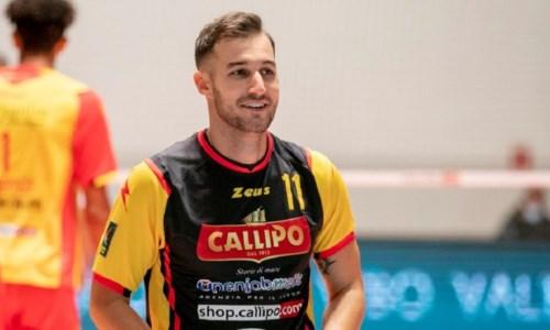 Volley, la Tonno Callipo e Marco Rizzo insieme per la terza stagione di fila