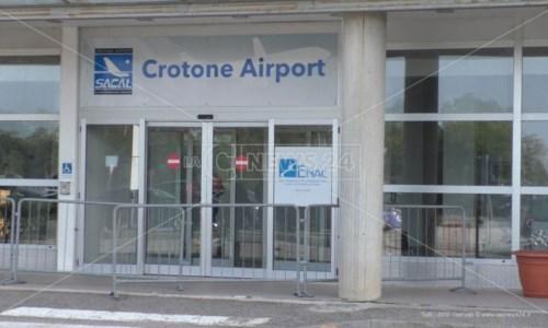 Aeroporto Crotone, un tavolo tecnico per attrarre nuove compagnie e rilanciare lo scalo