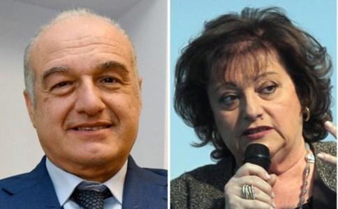 Enrico Michetti e Simonetta Matone