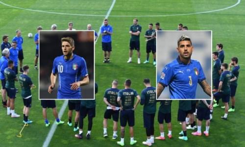 """Europei di Calcio, Berardi e Palmieri """"fratelli d'Italia"""" a rappresentare la Calabria"""
