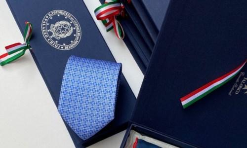 Le cravatte del calabrese Talarico scelte da Draghi come dono ufficiale ai capi di Stato al G7