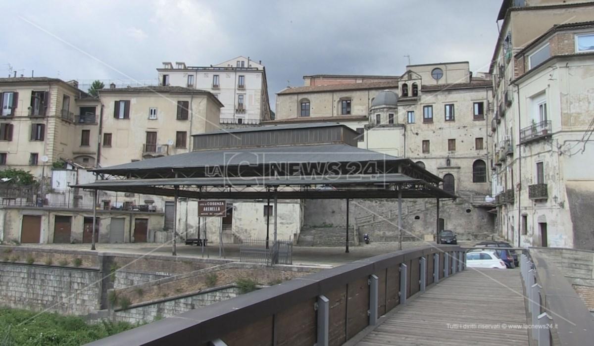 La superficie coperta dell'Arenella dove dovrebbe trasferirsi il mercato