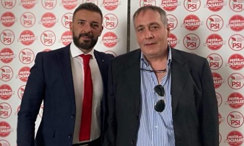 Il commissario cittadino Buccolieri e il vicesegretario provinciale Marino